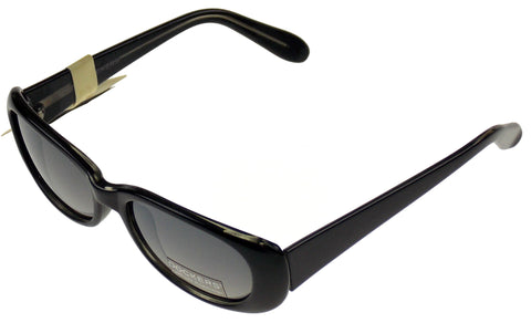 Levi Strauss DOCKERS Womens Sunglasses 100% UV Oval Black Plastic 52-19-125 - FUNsational Finds - 1