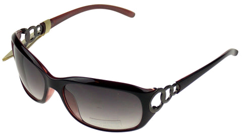 Levi Strauss DOCKERS Womens Sunglasses 100%UV Oval Brown Plastic Large 62-18-130 - FUNsational Finds - 1
