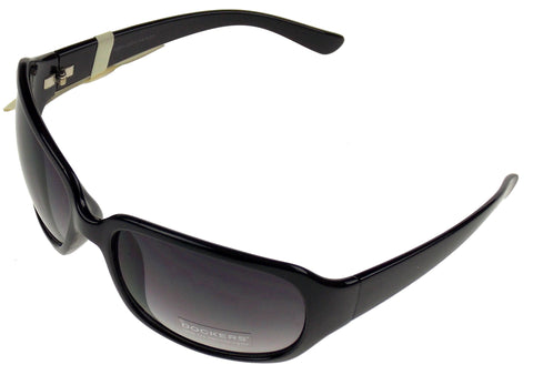 Levi Strauss DOCKERS Sunglasses Women 100%UV Rectangular Black Plastic 63-18-125 - FUNsational Finds - 1
