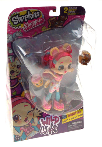 Shopkins Shoppies Wild Style Donatina Sweet N Squishy Tribe