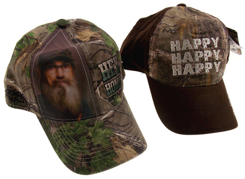 Realtree Duck Dynasty Camo Outdoor Baseball Cap Hat Lot 2 Happy Hey Homie A&E - FUNsational Finds - 1