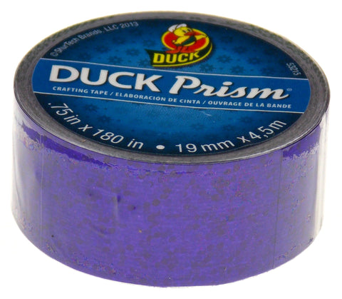 "Duck Prism Crafting Tape Purple Lot of 6 Rolls 0.75"" x 180"" Shurtech Brand Shiny - FUNsational Finds - 1"