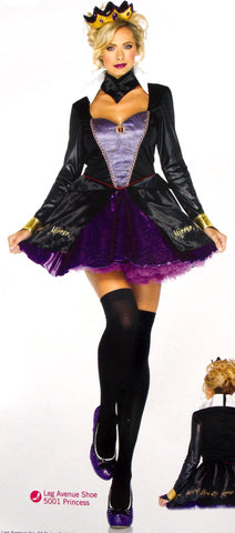 Leg Avenue Evil Queen Sexy Halloween Costume Cosplay Dress Small Medium 85011 - FUNsational Finds - 1