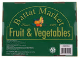 Battat Market Fake Fruit & Vegetables Apple Banana Melon Orange Pineapple 8 Pcs