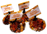 Darice Autumn Leaves Glass Gems 1 lb Bag Lot 4 Crafts Floral Decor Pumpkin Acorn - FUNsational Finds - 2