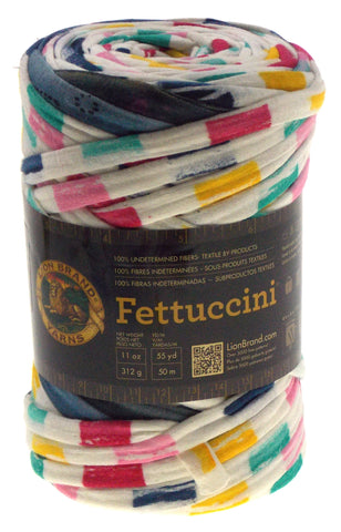 Lion Brand Yarns Fettuccini Color Choice Skein Ball Knit Crocheting Super  Bulky