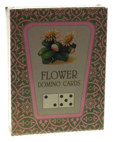 Reproduction FG & Co Flower Plant Domino Playing Cards Victorian USA Parlor Game