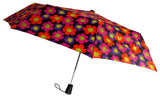 Totes Umbrella Flower Auto Open Large Rain Sun Travel Compact Mini Folds - FUNsational Finds - 1