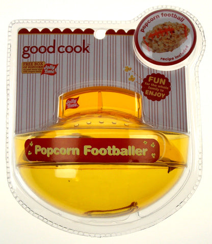 Lot of 3 Popcorn Baller Yellow Football Shape Good Cook Jolly Time Non Stick - FUNsational Finds - 1