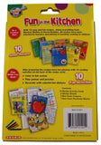 Kids Fun In The Kitchen Recipes Games Puzzles Activities Crayons Stickers Lot 2 - FUNsational Finds - 2