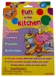 Kids Fun In The Kitchen Recipes Games Puzzles Activities Crayons Stickers Lot 2 - FUNsational Finds - 1