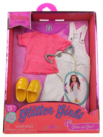 "Glitter Girls Deluxe Outfit Fits Most 14"" Dolls Glisten and Glam"
