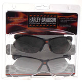 Harley Davidson Personal Safety Wear Glasses Set Tinted Clear ANSI Z87+ 99.9% UV - FUNsational Finds - 1