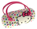 Hello Kitty Sunglasses Eyeglass Reading Hard Case Polka Dots Licensed Handles