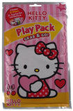 Lot of 12 Hello Kitty Play Packs Grab & Go Valentines Day Coloring Book Crayons - FUNsational Finds - 1
