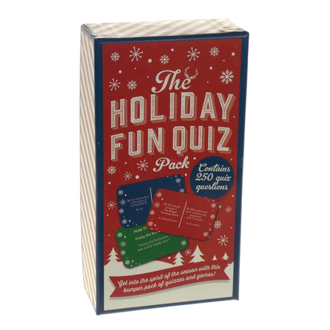 Professor Puzzle The Holiday Fun Quiz Pack 250 Questions Game Christmas Gift