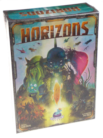 Horizons Board Game Gift 2-5 Players Age 14+ Daily Magic Games Skill Action Gift