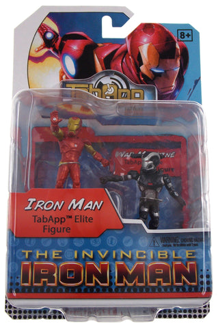 Ironman War Machine TabApp Elite Figure Marvel HeroClix Wizkids Neca Badge Lot 2 - FUNsational Finds - 1