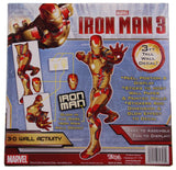 Marvel Iron Man 3 Avengers Initiative 3D Wall Activity Glow In The Dark Decal - FUNsational Finds - 2