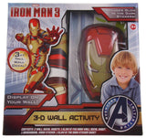 Marvel Iron Man 3 Avengers Initiative 3D Wall Activity Glow In The Dark Decal - FUNsational Finds - 1