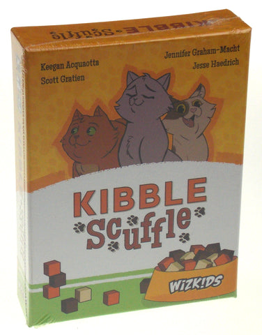 Kibble Scuffle Card Game Wizkids Cats Kitten Food Tactical Family Area Control