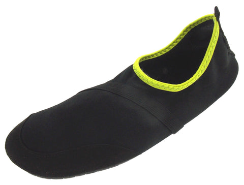 FitKicks Black Green Mens Large Active Lifestyle Footwear Shoes 10-11 L Walking - FUNsational Finds - 1