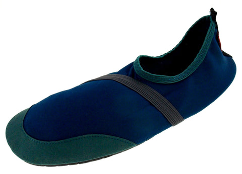 FitKicks Blue Green Mens Large Active Lifestyle Footwear Shoes 10-11 L Walking - FUNsational Finds - 1