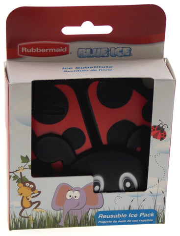 Rubbermaid Blue Ice Reusable Pack Black & Red Ladybug Set of 2 - FUNsational Finds - 1