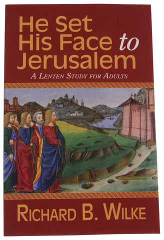 Lot of 7 He Set His Face to Jerusalem Lenten Study Adults Richard Wilke 2013 - FUNsational Finds - 1