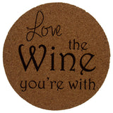 Wine Coaster Accessory Set of 7 Love Wine Bottle Decoration Corkscrew Stopper - FUNsational Finds - 2