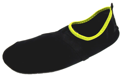 FitKicks Black Mens Medium Active Lifestyle Footwear Shoes 8.5-9.5 Ergonomic M - FUNsational Finds - 1