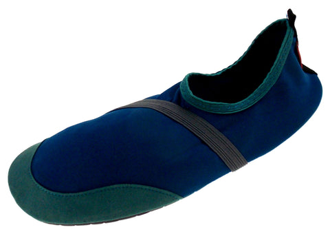 FitKicks Blue Green Mens Medium Active Lifestyle Footwear Shoes 8.5-9.5 Slip On - FUNsational Finds - 1