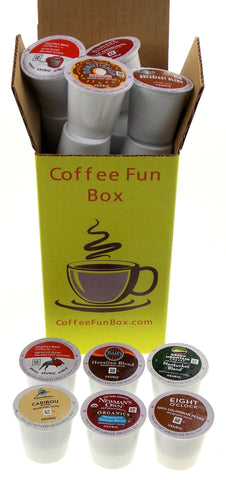 Medium Roast Coffee Mystery FUN Box: 15 K-Cups - FUNsational Finds - 1