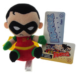 Mopeez Plush Funko Super Heroes Batman Orange Green Robin Batgirl Set of 4 Toys