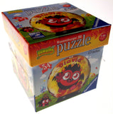 "Set 2 Moshi Monsters Ravensburger 3D Puzzle Poppet Diavlo 54 Pc 2.7"" Round NEW - FUNsational Finds - 2"