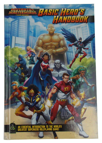 Mutants & Masterminds Basic Hero's Handbook 3rd Edition Green Ronin Publishing