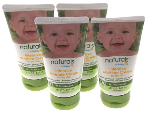Lot 4 Naturals Intensive Moisture Cream Dry Skin 5 Oz 147 ml Baby Paraben Free - FUNsational Finds - 1
