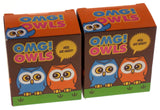 Lot of 2 OMG Owls Figurines Hoot Humorous Friendship Book Mega Mini Kits Sounds - FUNsational Finds - 1