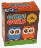 Lot of 2 OMG Owls Figurines Hoot Humorous Friendship Book Mega Mini Kits Sounds - FUNsational Finds - 2
