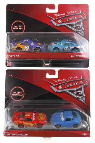 Mattel Disney Pixar Cars 3 Bobby Swift Cal Weathers Lightning McQueen Sally Toy