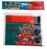 Pokemon Party Gift Bags Lot of 8 Pkgs 64 Bags 6.5x9 Birthday Loot Favor Slowking - FUNsational Finds - 1