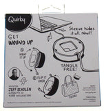 Quirky Powercurl Power Cord Wrap Teal Macbook Air Tangle Free Neat Portable