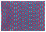 Really Carson Purple Placemats Set of 4 19x13 Kitchen Dining Table Fabric Cotton