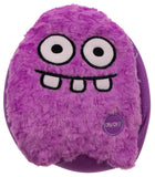 "Purple Rocket Head Pillow Color LED Light Up Flash Plush 10"" Microbeads Decor - FUNsational Finds - 1"