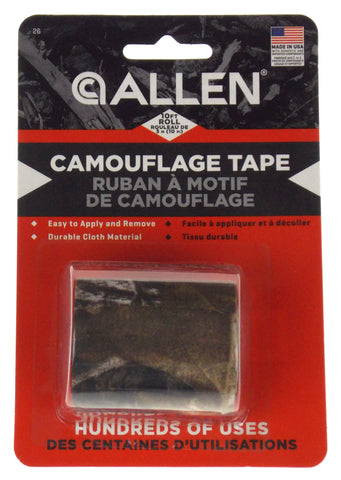 "Allen Camouflage Tape 2""x10 ft Realtree Xtra Lot 3 Rolls Made USA Durable Cloth"
