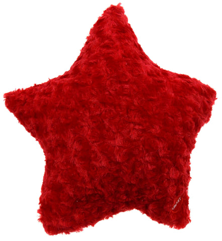 "Red Star Plush Pillow Multi Color LED Light Up Flash Throw Couch 13"" Microbeads - FUNsational Finds - 1"