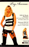 Leg Avenue SWAT Body Harness Sexy Halloween Costume Cosplay Garter iPhone Cord - FUNsational Finds - 3