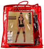 Roma 4pc Sherwood Robyn Small Sexy Halloween Costume Cosplay Shorts Top Hat 4265 - FUNsational Finds - 3