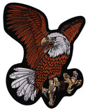 "Flying Screaming Eagle Patch Embroidered Motorcycle Rider Biker Jacket Large 12"" - FUNsational Finds - 1"