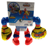 Spiderman Marvel Masters Of Kapow Figure Playskool Super Hero Smash Action Toy - FUNsational Finds - 2